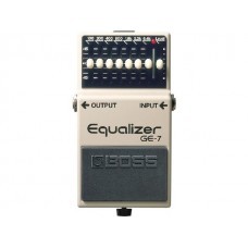 PEDAL BOSS EQUALIZER GE7